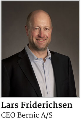 Lars Friderichsen CEO Bernic A/S