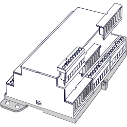 M36-DIN Rail building blocks method