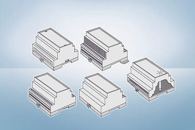 DIN Rail Enclosures - Series-1050