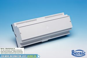 Desktop Enclosure Knocked out - DIN-Rail Enclosure