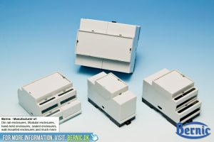 Din Rail enclosure Standard grey