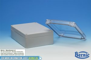 Sealed enclosure Transparent lid
